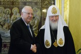 His Holiness Patriarch Kirill meets with President Rivlin of the state of Israel
