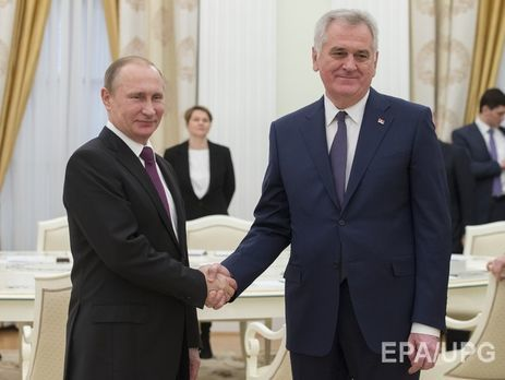 Putin thanks Serbian president for contribution in protection of Christian values