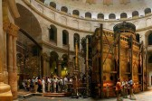 The Edicule where the Holy Fire descends at the Church of the Holy Sepulchre in Jerusalem to be restored first time in 200 years
