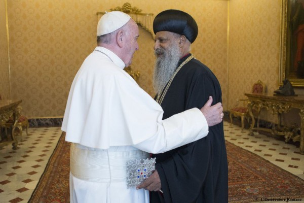 Africa: Pope Meets Ethiopian Patriarch, Calls for Christian Unity
