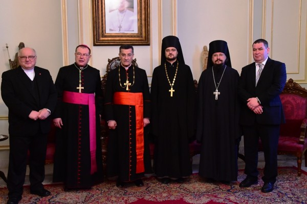 Moscow Patriarchate and Roman Catholic Church launch joint project in support of Syrian Christians