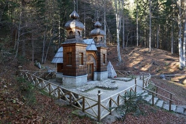 Putin, Slovenian leader agreed to honor the centenary of the Russian chapel near Vrsic