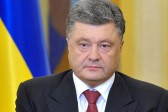 Poroshenko promises not to allow legalizing gay 'marriages' in Ukraine