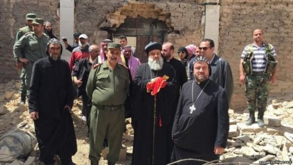 """We don't want to live under Islamic rule."" Syriac Orthodox Patriarch Ignatius Aphrem II"