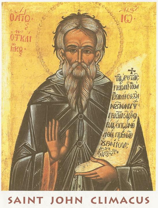 The Sunday of Saint John Climacus