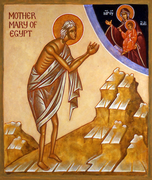 The Fifth Sunday of Lent: Sunday of Saint Mary of Egypt