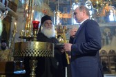 Putin Sure Russia's Ties With Athos, Greece to Continue Developing