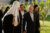 Patriarch Kirill thanks Putin for supporting Athos monastery