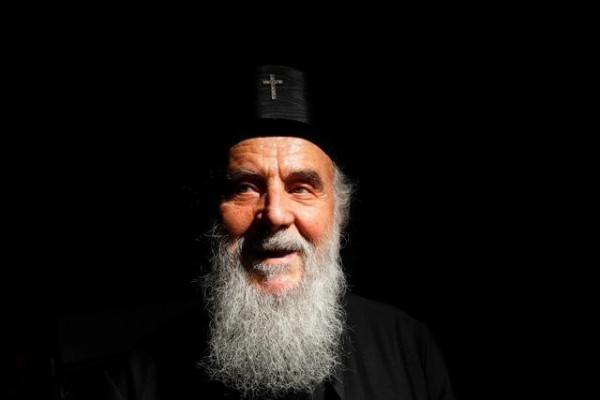 Patriarch Irinej reacts to Easter fires in Orthodox churches