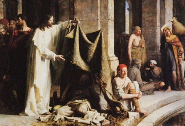 No Time to Relax: The Talk on the Miracle of the Pool of Bethesda