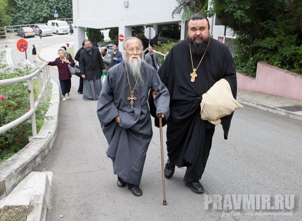 Father Mikhail Li and Father Vladimir Boikov