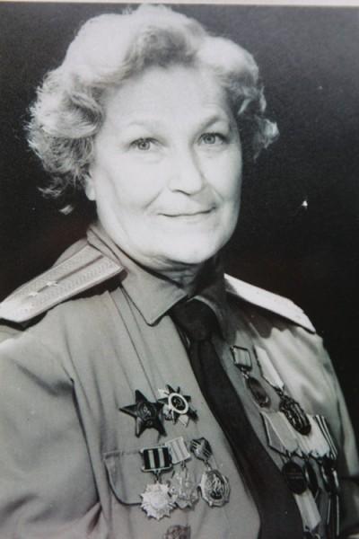 Major Nataliia Vladimirovna Malyshchev