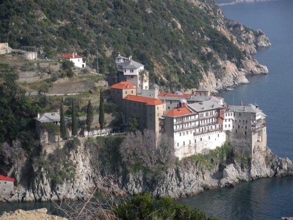 Photo: The Monastery of Osiou Grigoriou