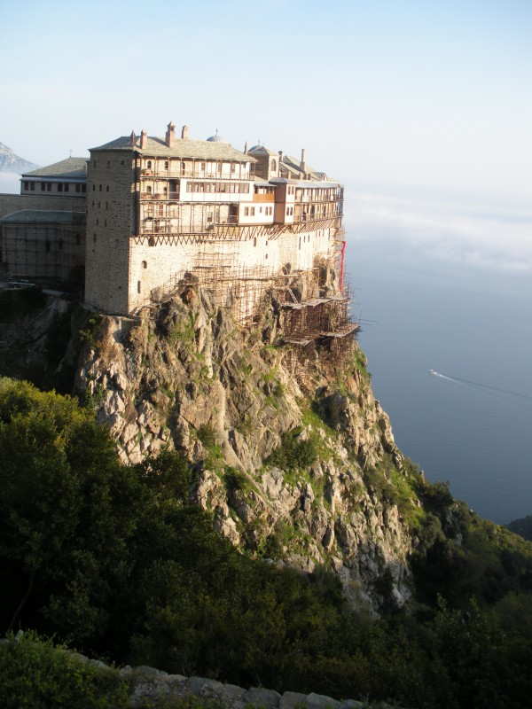 Photo: Simonopetra from the back