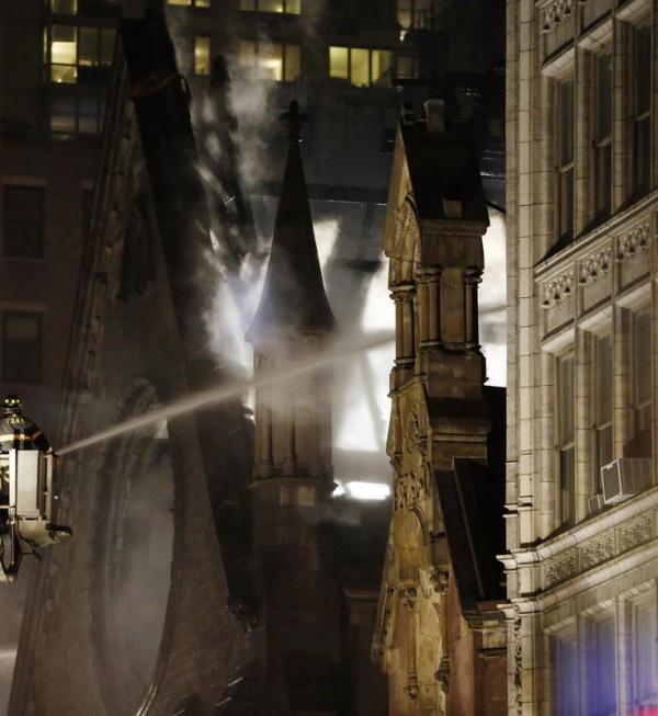 Orthodox churches burn on holiest day