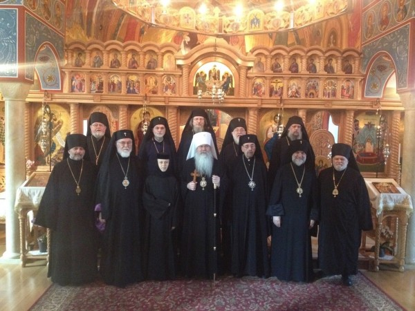 Statement of the Holy Synod of the OCA on Sincerely Held Religious Beliefs Regarding Marriage