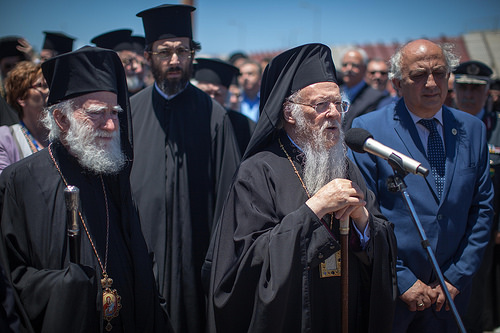Arrival of His All-Holiness Ecumenical Patriarch Bartholomew