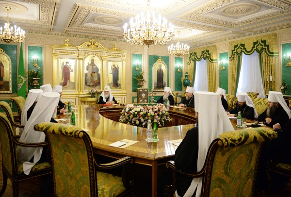 Session of the Holy Synod of the Russian Orthodox Church 3 June 2016