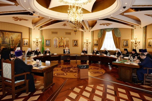 His Holiness Patriarch Kirill chairs session of the Supreme Council of the Russian Orthodox Church