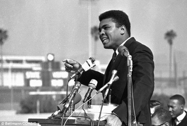 Mohammad Ali, Islam, and Christian Preachers