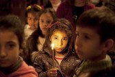 Aleppo: Syrian children pray for peace