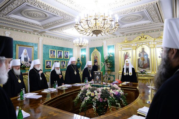 Holy Synod of the Russian Orthodox Church begins its session with a minute of silence in memory of victims of the terrorist attack in Nice