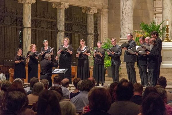 Cappella Romana presented a concert of Orthodox church music at the Basilica of St. Mary during their Twin Cities debut performance to a near sellout crowd