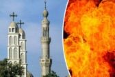 Hundreds of Muslims burn down Christian homes as warning not to build new church