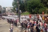 Up to100,000 believers join ranks in Cross-procession in Kiev