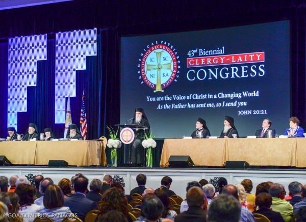 43rd Clergy-Laity Congress Officially Opens with Archbishop Demetrios' Keynote Address