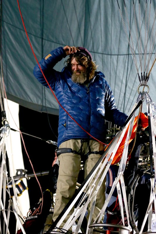 Fedor Konyukhov prepares for lift off from the Northam Aero Club (Paul Kane/ Getty Images)