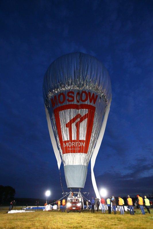 Fedor Konyukhov prepares to depart the Northam Aero Club in Northam (Paul Kane/ Getty Images)