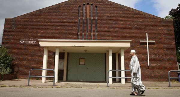 French Muslims Refuse to 'Taint Islam' by Burying Normandy Priest's Killer