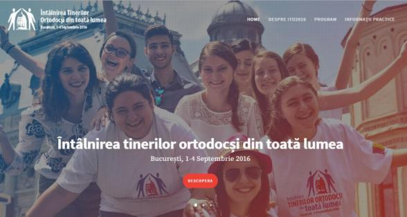 Convention of Christian Orthodox young people from around the world to be held în Bucharest, September 1 – 4