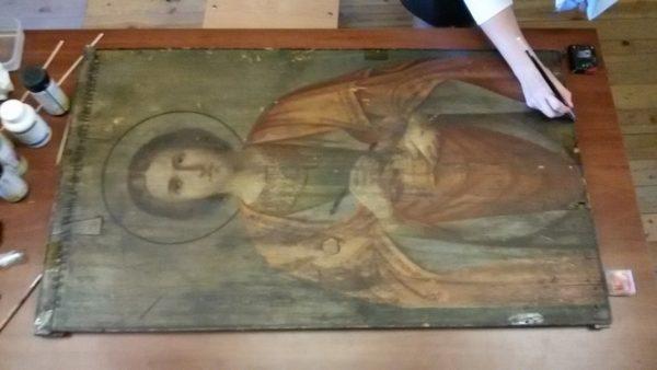 A Miracle with St. Panteleimon's Icon