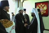 Metropolitan Rastislav of the Czech Lands and Slovakia arrives in Moscow