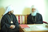 Metropolitan Hilarion of Volokolams visits Belgrade