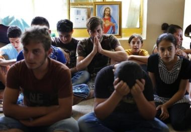 Iraq: Three young priests ordained in refugee camp to serve persecuted Christians who fled ISIS