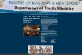 NY/NJ Diocese launches Department of Youth Ministry web site