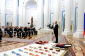 President of Russia presents Metropolitan Hilarion of Volokolamsk with a state award