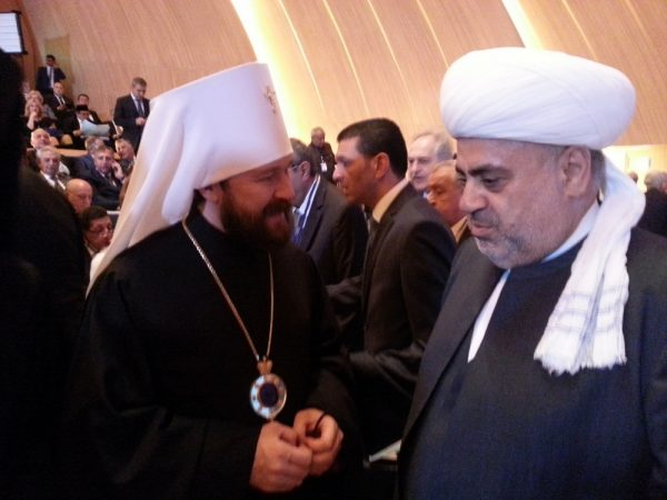 Metropolitan Hilarion takes part in the 5th Baku International Humanitarian Forum