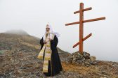 Patriarch Kirill prays for peace near the USA frontier