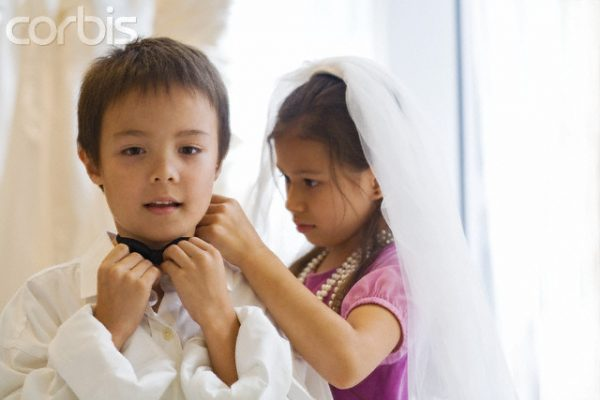 Getting Dressed for the Wedding