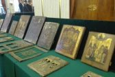 Old icons taken from Russia in wartime conveyed to the Berlin Diocese
