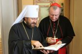 Meeting between Metropolitan Hilarion of Volokolamsk and secretary of State of the Holy See takes places in Vatican