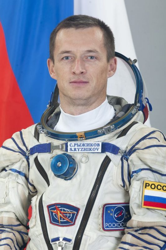 Russian astronaut takes icons and Gospels with him, the crew call is 'Tabor'