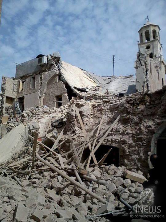 Twenty churches destroyed in Aleppo during the war