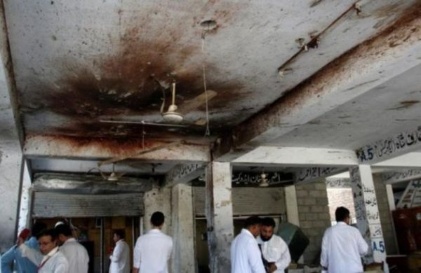 Pakistani Christian neighborhood and courts shaken by deadly twin bombings
