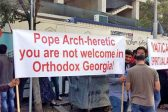 "Georgia's ""Orthodox Parents"" protest against pope visit"