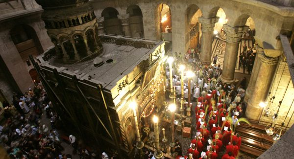 Christ's Tomb Uncovered After Five Centuries